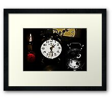 Running Out Of Time !? Framed Print