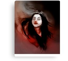 Blind love/I'll pull out my heart Canvas Print