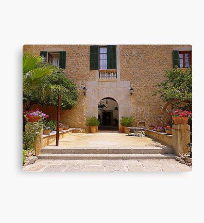 Es Port Hotel..................................Majorca Canvas Print