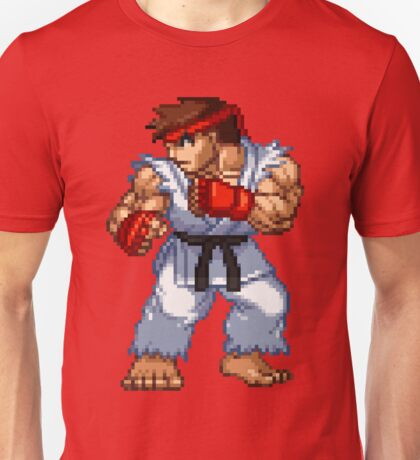 Ryu - Street Fighter Sprite Unisex T-Shirt