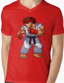 Ryu (NxC) Mens V-Neck T-Shirt