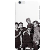 One Direction (with Zayn) iPhone Case/Skin