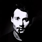 johnny depp by gazevans