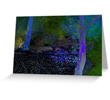 River Frome At Oldbury Court Greeting Card