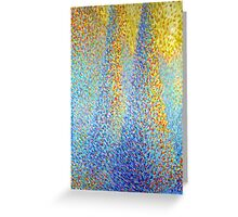 """Three Trees"" Acrylic on Canvas Greeting Card"