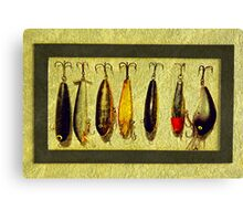Grandpa's Lures Canvas Print