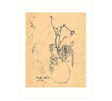 bouquet sordide Art Print