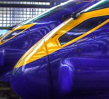Javelins at St Pancras by Rob Hawkins