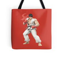 Ryu Punches In Tote Bag
