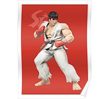 Ryu Punches In Poster