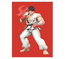 Ryu Punches In Photographic Print