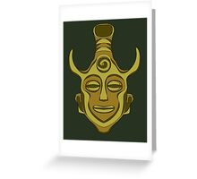 Amulet Greeting Card