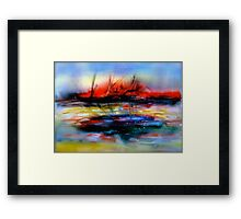 The Gales Of November.... Framed Print