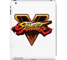 Street Fighter V - Logo iPad Case/Skin