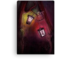 catch me if I fall Canvas Print