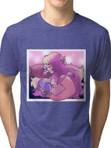 Rose and Pearl Tri-blend T-Shirt