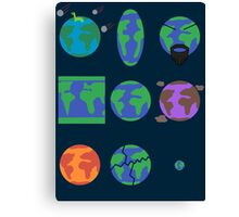 The Multiverse of Alternate Dimensions Canvas Print