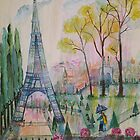 Paris Springtime Walk by eoconnor