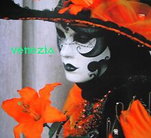 "Carnevale di Venezia featured in ""Inspired Art"" & ""Rainbow ~ Orange"" by ©The Creative  Minds"