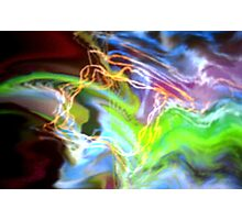 Electrical Interaction Photographic Print