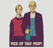 Pick Up That Poop - American Gothic by pickupthatpoop