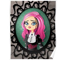 Gothic doll crying Poster