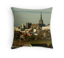 St Mary's Basilica,Geelong Throw Pillow