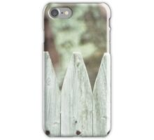 Looking Over a Fence iPhone Case/Skin