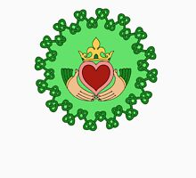 Claddagh and Knotwork Green T-Shirt