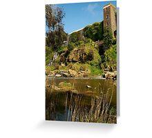 Buckley Falls Geelong. Greeting Card