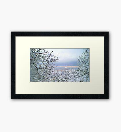 Awesome landscape  Framed Print