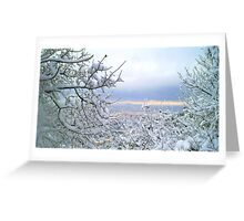 Awesome landscape  Greeting Card