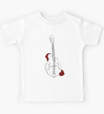 Mandolin & Mandolins Kids Tee