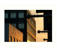Sundown,Lt Ryrie St Geelong Art Print