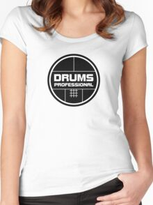 Drums Professional Women's Fitted Scoop T-Shirt