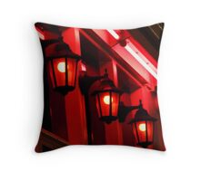 Street Lamps - Amsterdam, NL Throw Pillow