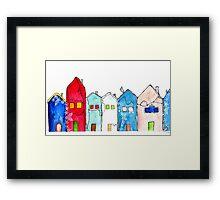 Houses1 Framed Print