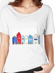 Houses1 Women's Relaxed Fit T-Shirt