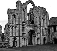 Castle Acre Priory by Kim Slater