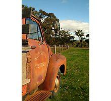 Bedford Truck, Brisbane Ranges Photographic Print