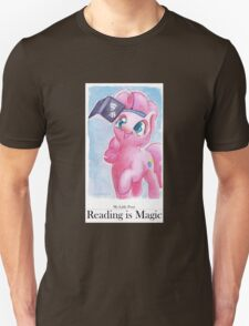 Reading is Magic: Pinkie Pie Unisex T-Shirt