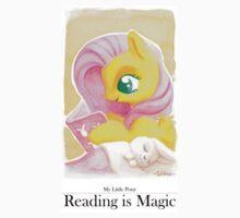 Reading is Magic: Fluttershy Kids Tee