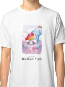 Reading is Magic: Radinbow Dash Classic T-Shirt