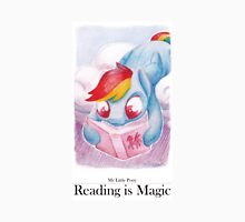 Reading is Magic: Radinbow Dash Unisex T-Shirt