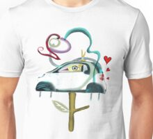 Low CO2 emission ecology driving fun smart shirt Unisex T-Shirt