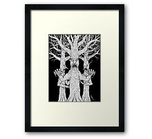 Denizens of the Diabolic Wood Framed Print
