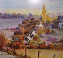 South Croxton from Beeby Road by Tracy Manning