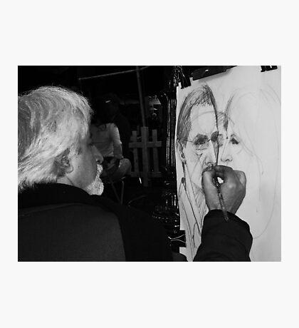 Sketching Photographic Print
