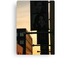 Back Alley,Movie Theatre Banners,Geelong Canvas Print