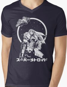 Interstellar Bounty Hunter Mens V-Neck T-Shirt